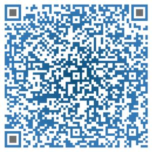 QR Code mit Visitenkarte